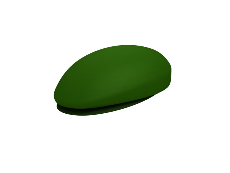 beret hat cartoon 3d model